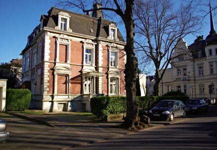 Wohnen und Arbeiten im Villenviertel